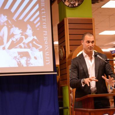 Austin Hosts Nigel Barker ~ Talks about New Book…Models of Influence