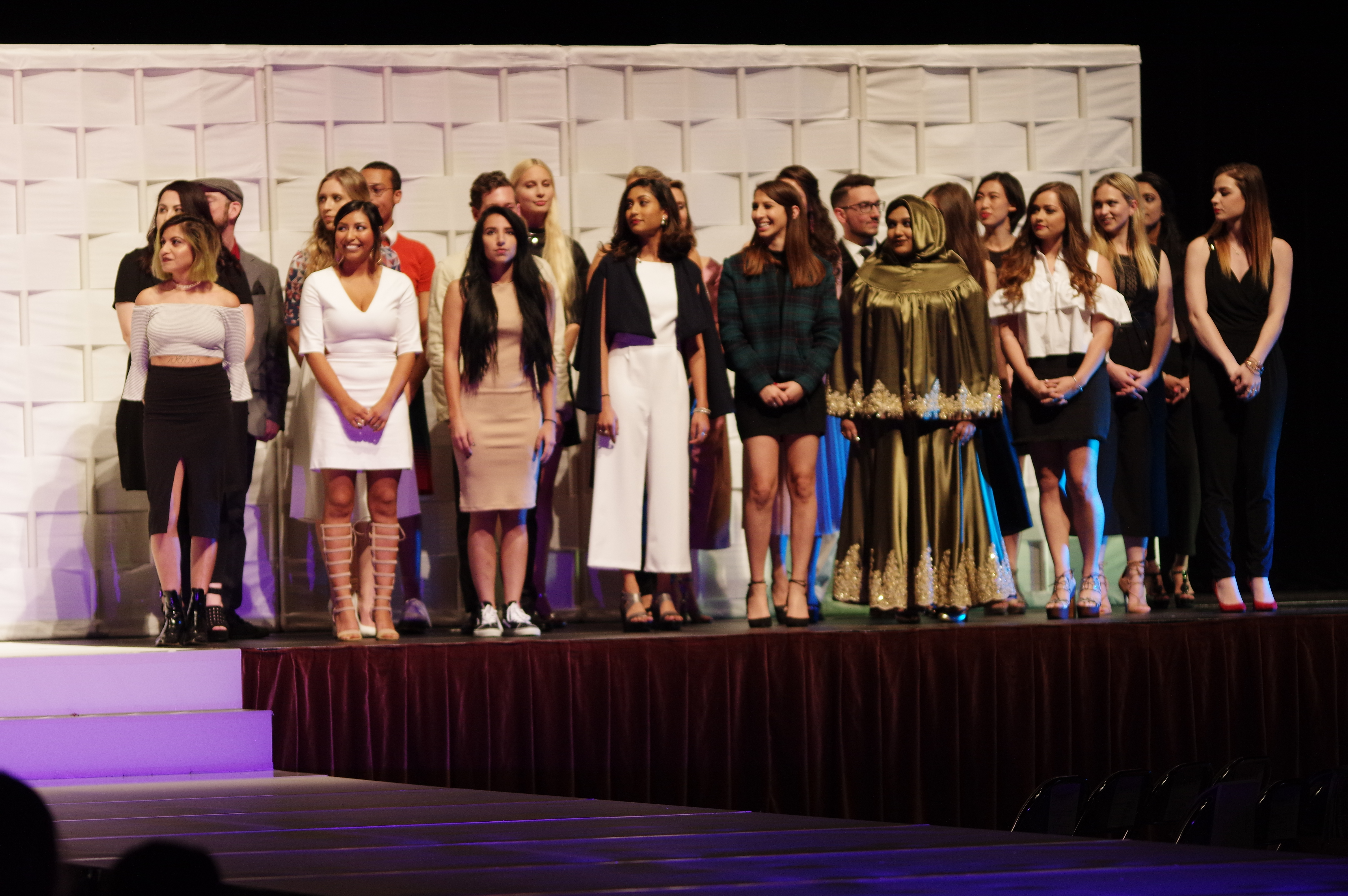 University of Texas Designers Present Final Collections on the Runway