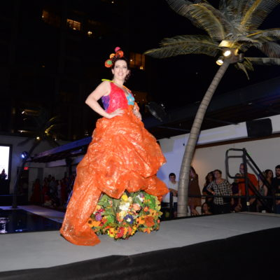 Annual Trash Makeover Challenge Features Creative Art on the Runway