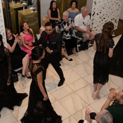 La Belle Salon Grand Opening Party Features Designer Danny Nguyen Collections