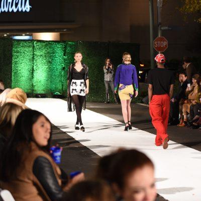 Domain Street Transformed Into Fall Fashion Runway