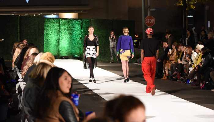 Domain Street Transformed Into Fall Fashion Runway
