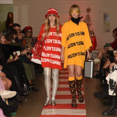 Sloane Lenz Shows Post Apocalyptic Themed Runway Show