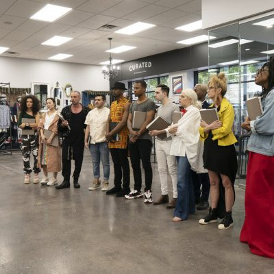 Austin Project Runway Designers Upcycle Their Way To Another Safe Week