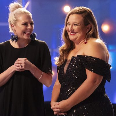Team USA Athletes Challenge Austin Project Runway Designers For Medal Gowns